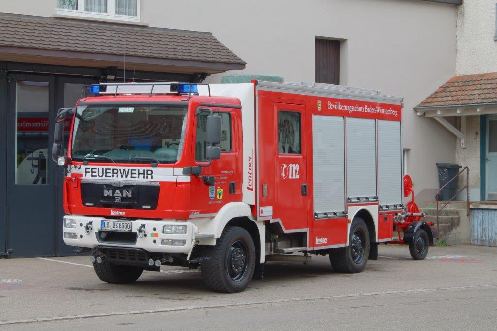 Löschfahrzeug Katastrophenschutz LF-KatS