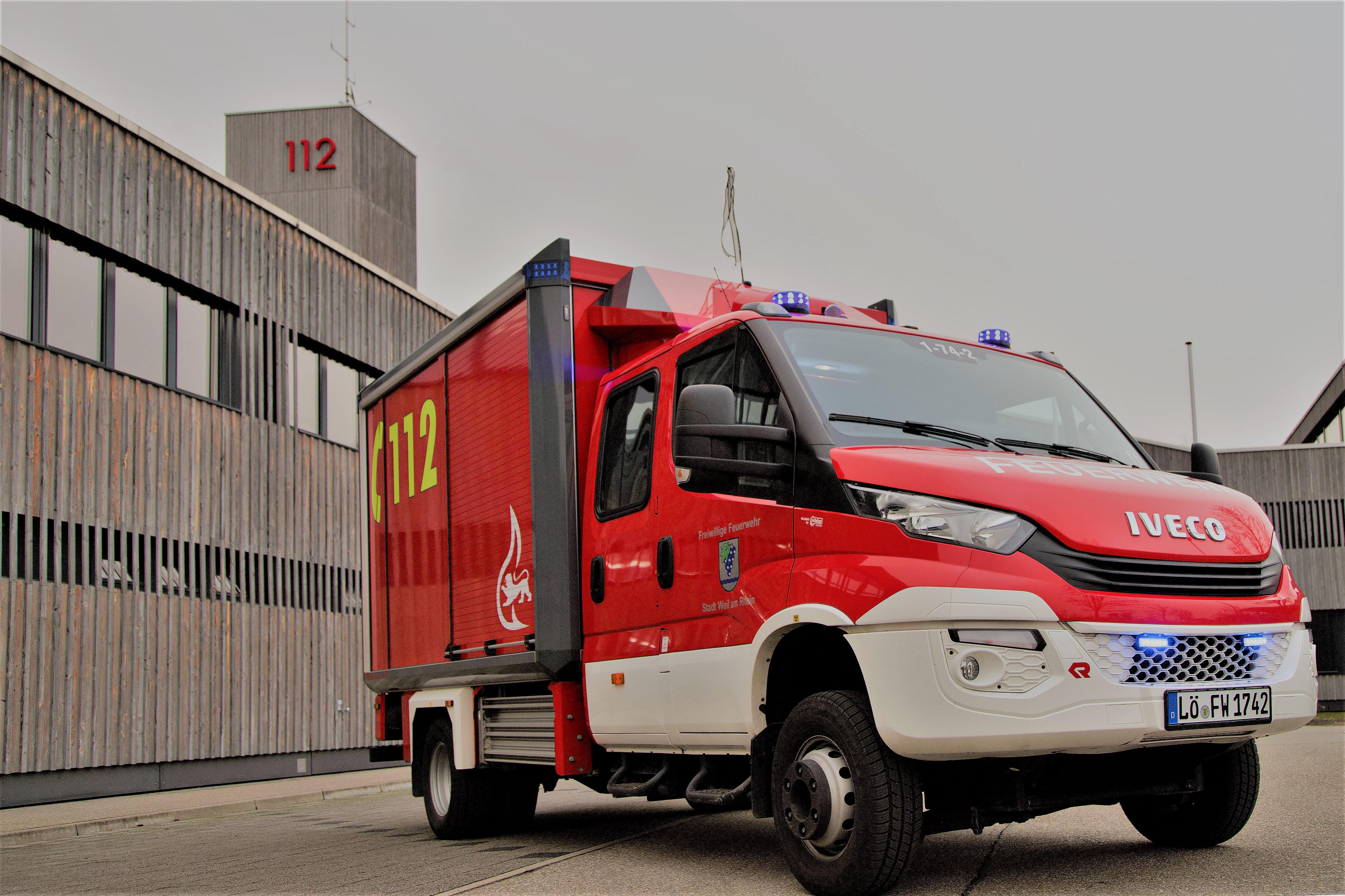 Gerätewagen Logistik - Kleinalarm